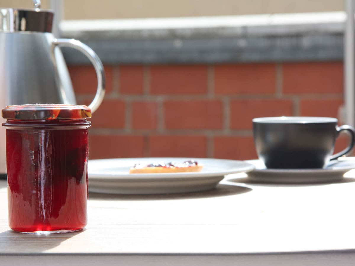 Marmelade selbstgemacht, Kirsch-Lakritz, Melange Göttingen, Carl Tode Göttingen