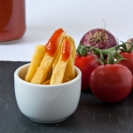 Selbstgemachter Ketchup, würzig und pinkant, aus frischen Tomaten, Carl Tode Göttingen