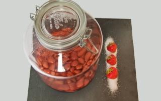 Rumtopf ansetzen, Live auf dem Blog mitverfolgen, Erdbeeren, Rum und Zucker, Carl Tode Göttingen