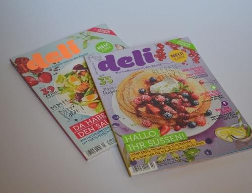 Kochzeitschrift: deli – Wir treffen uns in der Küche
