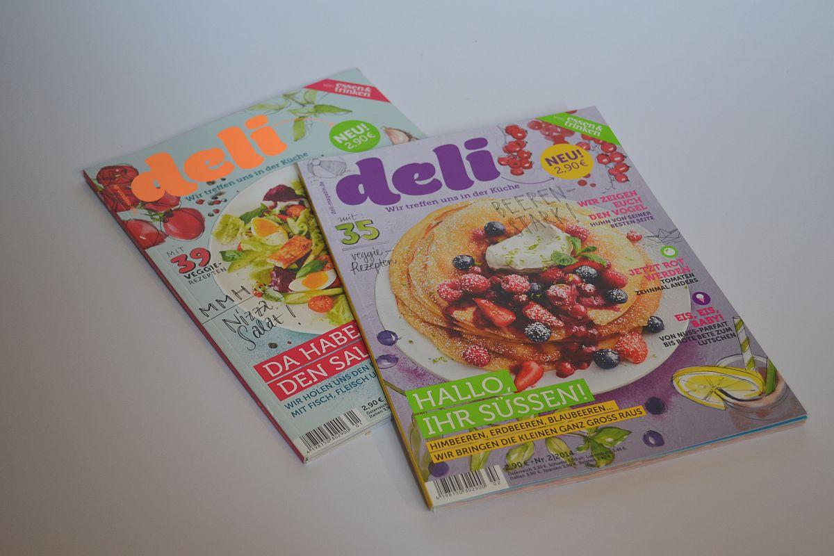 Deli, Kochzeitschrift, abwechslungsreich, tolles Layout, Carl Tode Göttingen