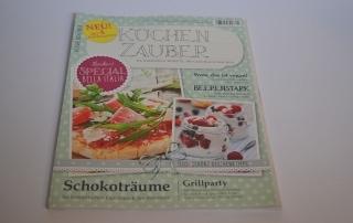 Rezension Küchenzeitschrift, Küchenzauber, neu, Carl Tode Göttingen