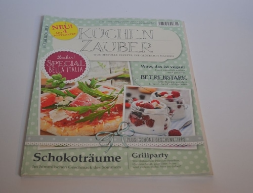 Neue Kochzeitschrift: Küchenzauber