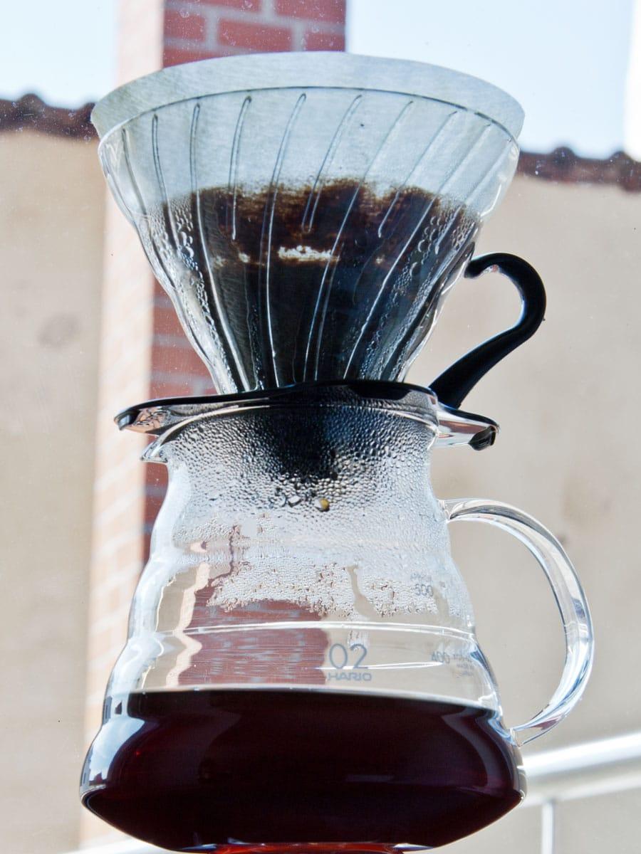 Kaffeefilter Hario, Innovation, Filter aus Glas, Carl Tode Göttingen