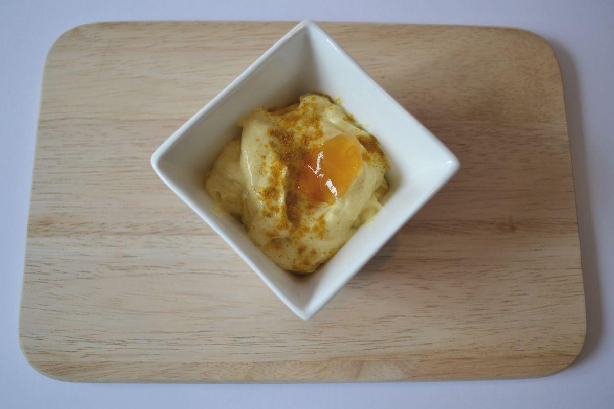 Dip mit Curry, lecker zu Gegrilltem oder Kartoffeln, Carl Tode Göttingen