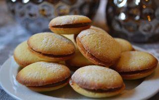 Leckeres Keksrezept für Dominikaner, Zitronenkekse mit Nougatfüllung, Carl Tode Göttingen