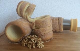 Backen Sie traditionellen Baumkuchen zuhause, mit der Form von Tescoma, Testbericht von Carl Tode Göttingen