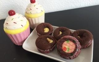 Leckeres Rezept für Muffins mit Käsekuchenkern, einfach mit der Trennhilfe von Tescoma, Carl Tode Göttingen