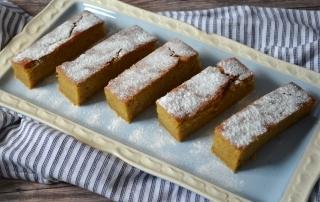 Kürbis-Schnitten, Kuchen mit Kürbis, Pumpkin Spice, lecker würzig und saftig, Carl Tode Göttingen