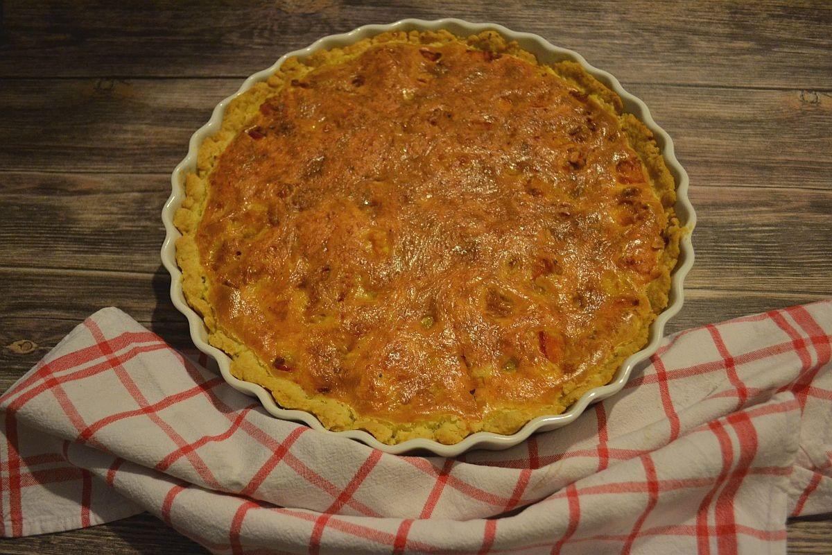 Leckeres Rezept für eine Quiche mit Kürbis, gut vorzubereiten, mit Curry gewürzt, Carl Tode Göttingen