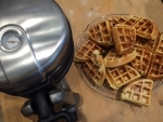 Buttermilchwaffeln aus dem KitchenAid Waffeleisen von Carl Tode gebacken