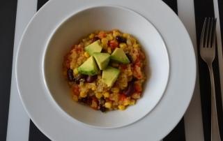 Gemüsepfanne mit Quinoa, schmeckt warm und kalt, für unterwegs, lunch, Carl Tode Göttingen