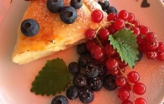 Carl Tode Göttingen präsentiert Rezept für Puddingkuchen mit gebrannter Kruste, Dessert, backen