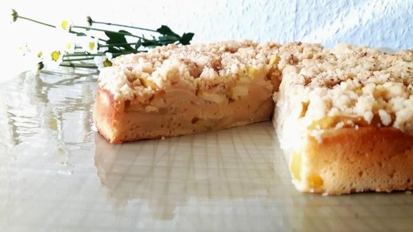 Rezept für leckeren Apfelkuchen mit Streuseln, einfach nachmachen, Carl Tode Göttingen