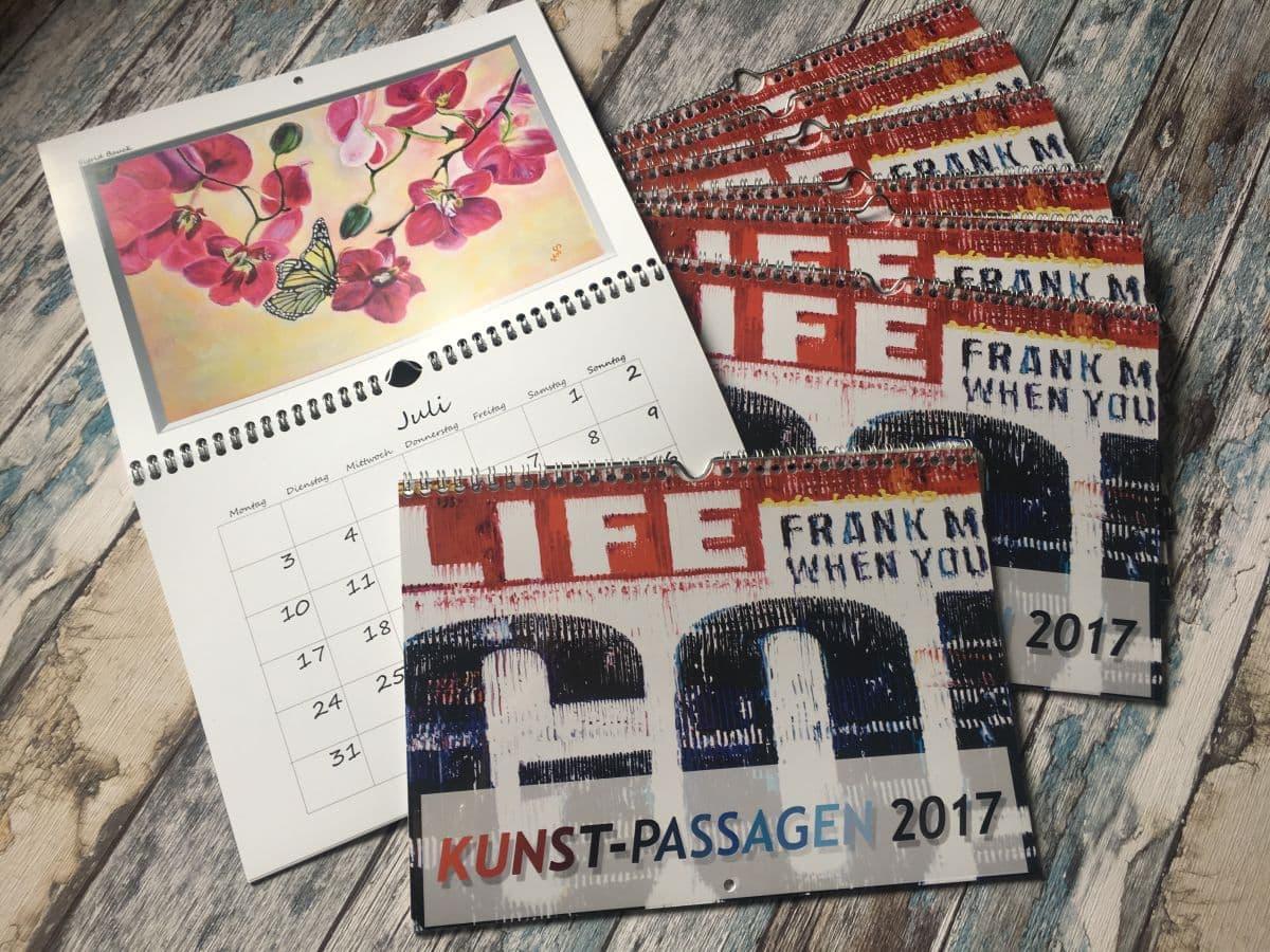Kalender, Kunst-Passagen, Charity, Carl Tode Göttingen, Hospiz Hann. Münden