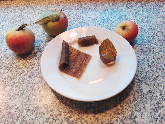 Rezept für Fruchtleder mit Apfel und Spinat, gesunder Snack, Carl Tode Göttingen