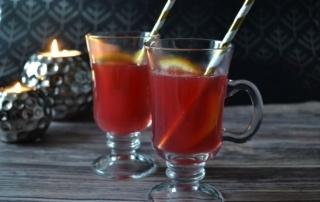 Rezept für Punsch, mit oder ohne Alkohol, Kinderpunsch, Cranberry, Carl Tode Göttingen