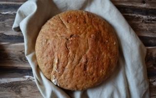 Brot ohne Kneten, No Knead Bread, Rezept, einfach, Carl Tode Göttingen