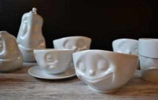 Carl Tode Göttingen präsentiert die Tassen mit Gesicht von 58 Products, jetzt entdecken, Porzellan, Geschenkidee