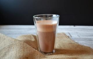 Rezept für heiße Schokolade aus echter Schokolade, Carl Tode Göttingen, Vitamix