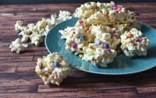 Rezept für Riegel aus Popcorn und Marshmallows, Popcornballs, Popcornbars, Carl Tode Göttingen