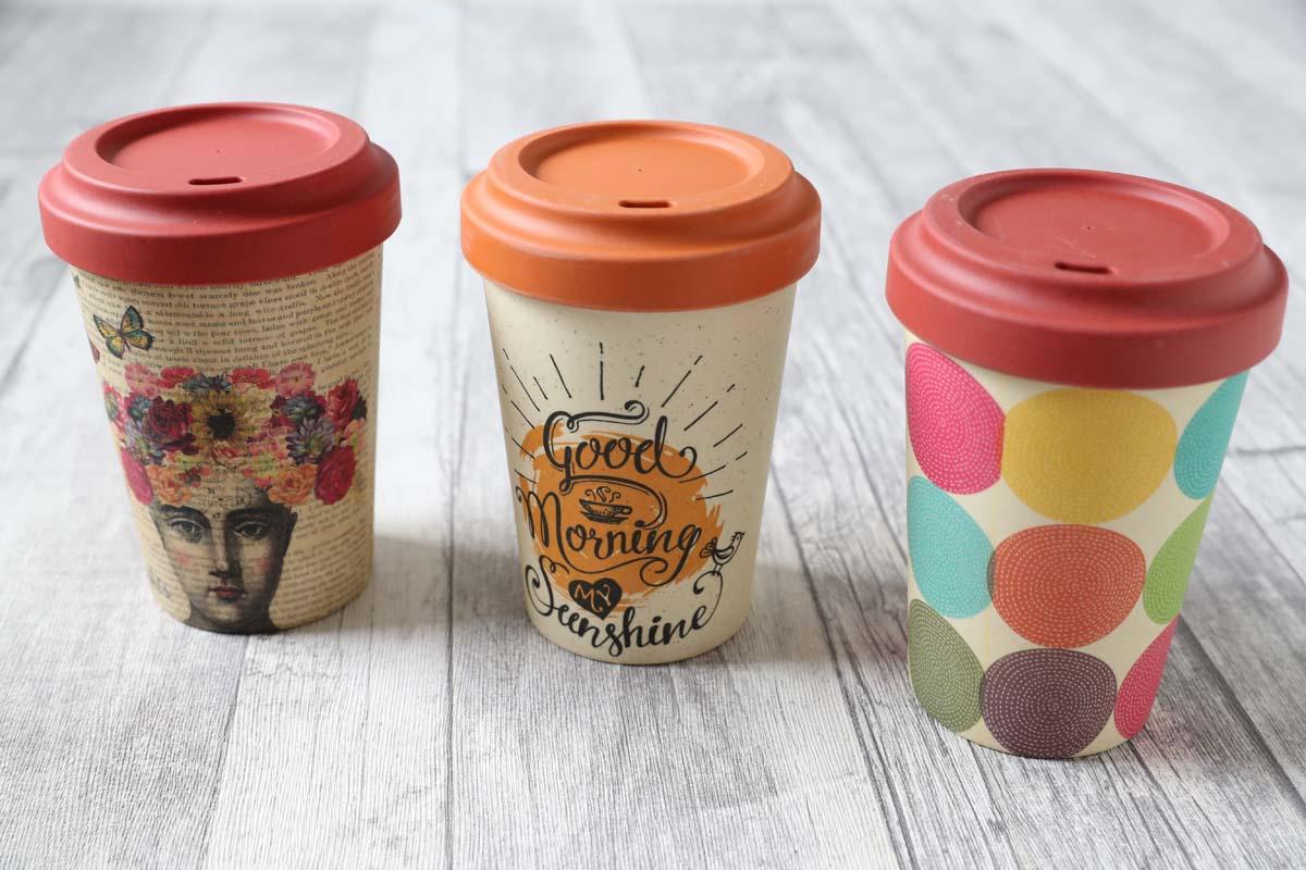 Chicmic, Bamboo Cups, Carl Tode Göttingen, Coffee to go, Kaffeebecher für unterwegs, aus Bambus, nachhaltig, umweltfreundlich