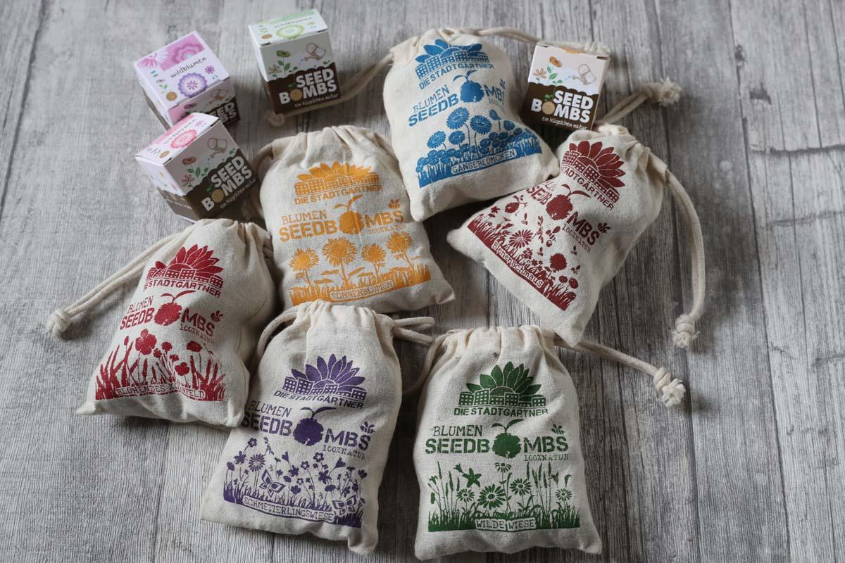 Produkte von Die Stadtgärtner bei Carl Tode Göttingen, Samen, Seedbombs und vieles mehr
