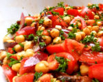 Salat, Kichererbsen, Tomaten, Petersilie, Beilage, Carl Tode, Göttingen