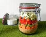 5-Minuten-Terrine, Salat, Couscous, Weck, vegan, Carl Tode, Göttingen