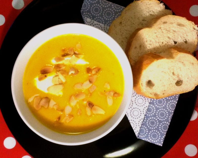 Suppe, Möhren, Kokos, Orange, Mandeln, Carl Tode, Göttingen