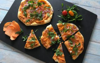 Süßkartoffelpizza, epicurean, Brett, Veggie, vegetarisch, Carl Tode, Göttingen