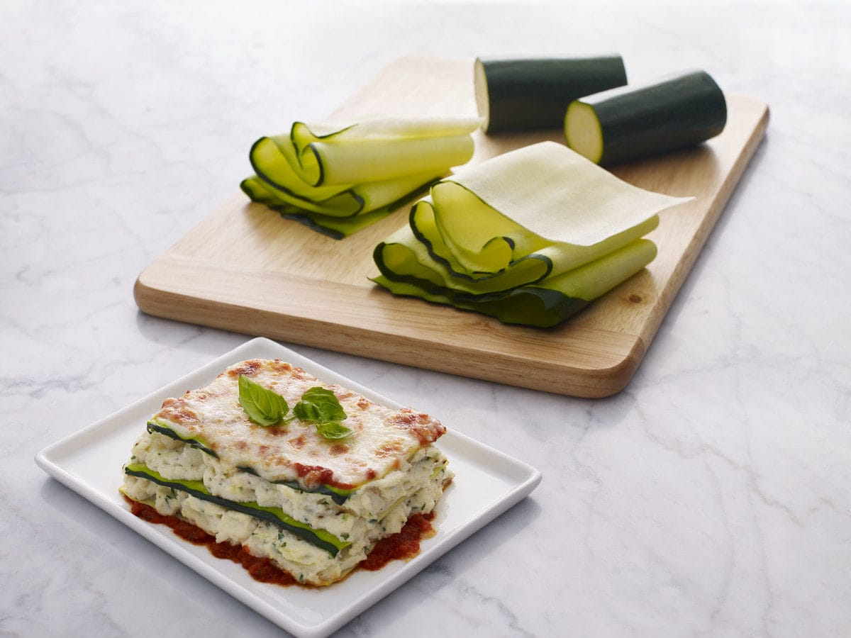 Zucchinilasagne, Lasagne, Gemüseplattenschneider, Veggie-Slicer, KitchenAid, Carl Tode, Göttingen