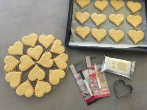 kekse, backen, Catl Tode, Göttingen, Valentinstag, Plätzchen, Mürbeteig