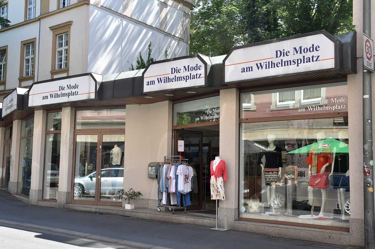 Die Mode am Wilhelmsplatz