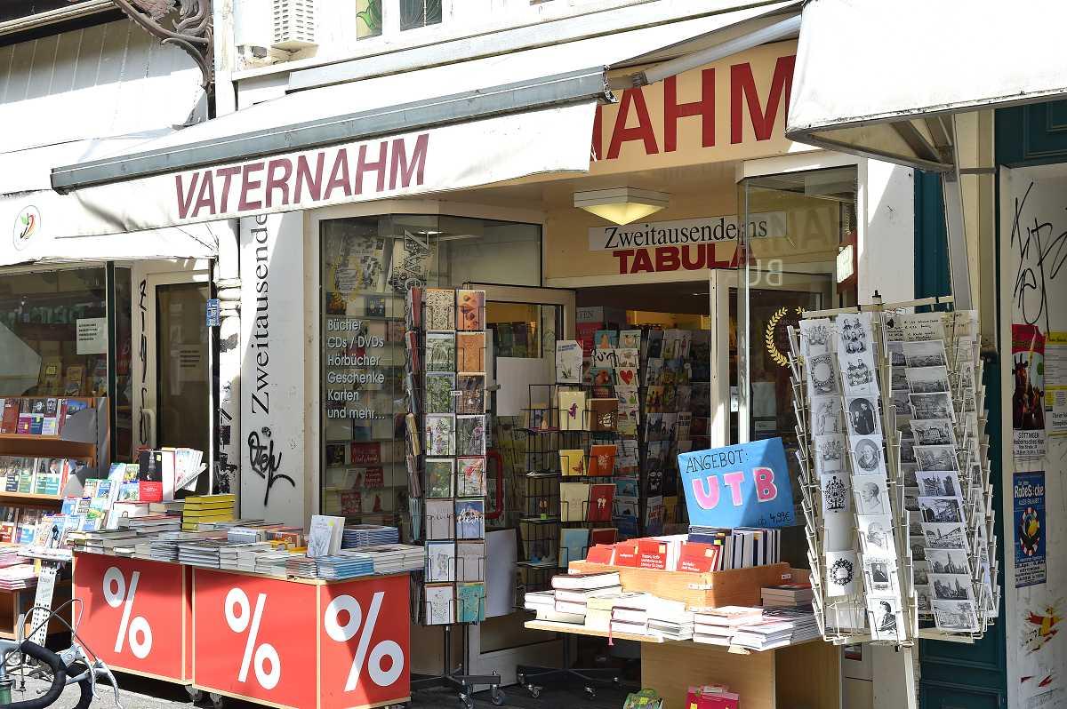 H. Vaternahm & Co. Tabula-Taschenbuchladen