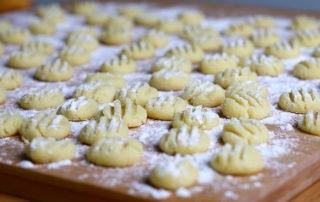 Gnocchi, Kartoffel mehligkochend, Grieß, Eigelb
