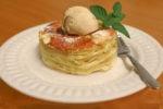 Lasagne, Apfellasagne, Dessert, Winteressen, aus dem Ofen, Carl Tode, Göttingen