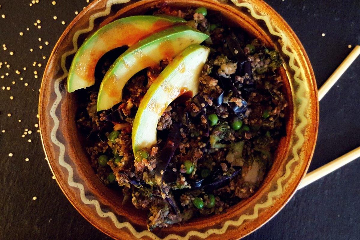 Buddhabowl, Superfood, vegetarisch, Quinoa, Avocado, Rezept, Carl Tode, Göttingen