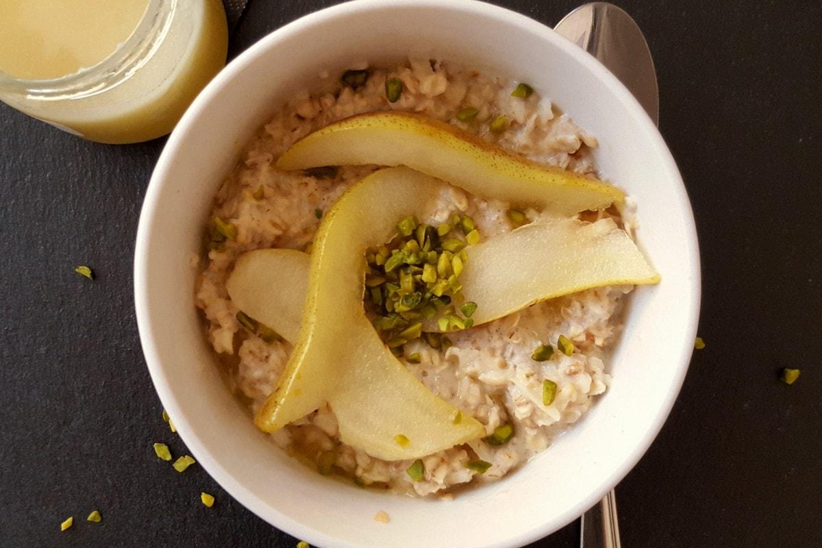 Porridge, Haferflocken, Milch, Apfel, gesund, selbstgemacht, Rezept, Carl Tode, Göttingen