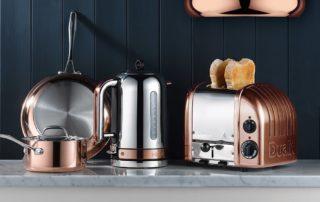 Dualit, Classic, Wasserkocher, Home, Decor, Toaster, Stil, Design, Klassiker, Ikone, Kupfer, Haushaltsgeräte, Carl Tode, Göttingen