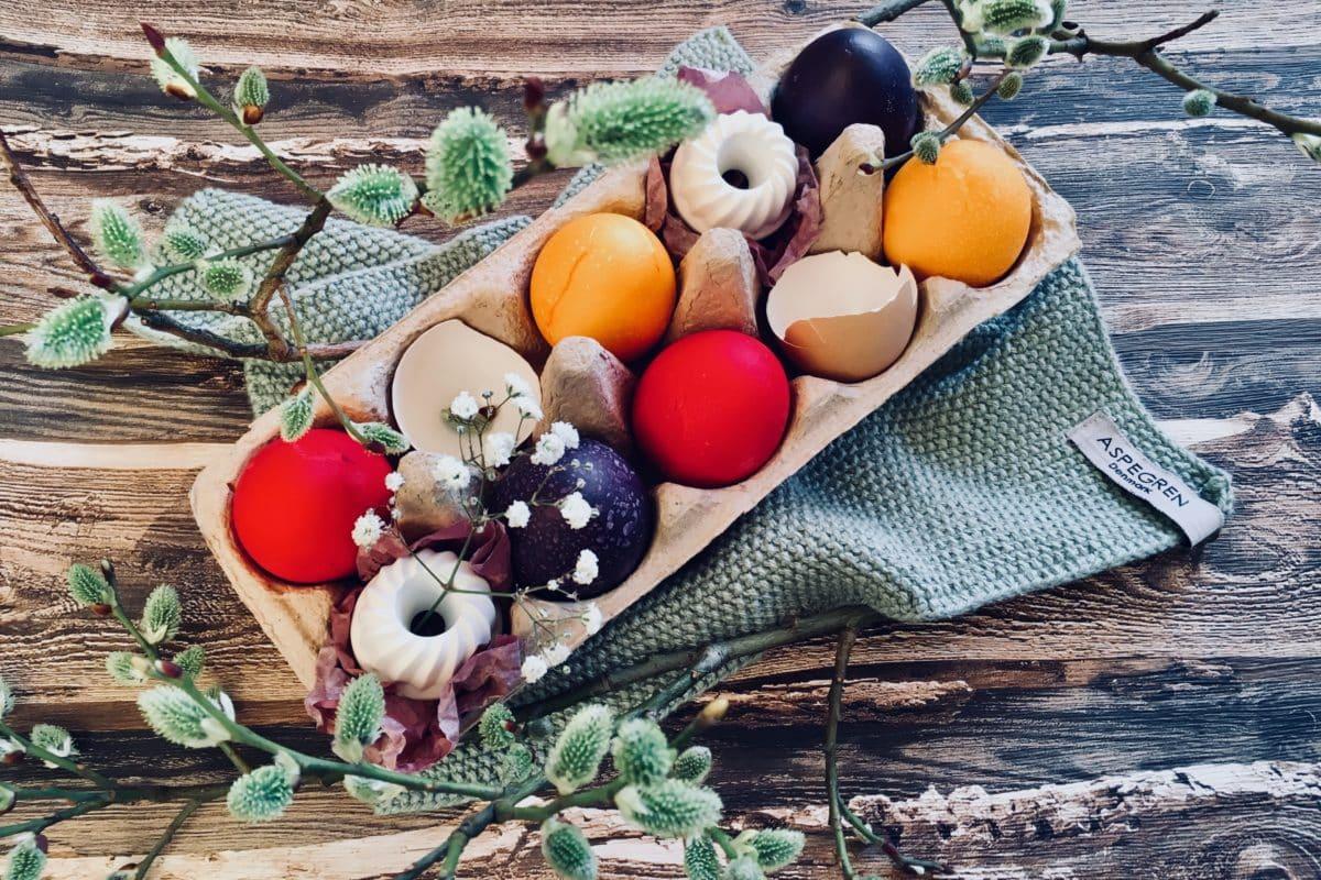 Ostereier, bunte Eier, Eier färben, Ostern, Frühling, Städter, Gelfarben, Lebensmittelfarben, Carl Tode, Göttingen