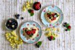 Obstboden, Tortelett, Herz, Kuchen, backen, Muttertag, Valentinstag, mit Liebe, Liebe, Beeren, Pudding, Rezept, Carl Tode, Göttingen