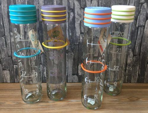 Zeit Buddels – 1l Trinkflasche aus Glas