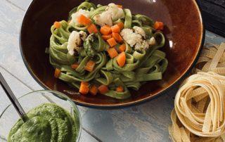 Foto für Pasta mit Spinat-Pesto