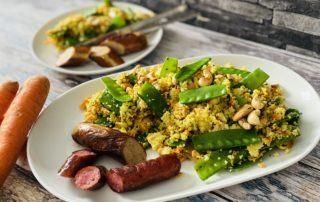 Couscous-Salat mit Limette