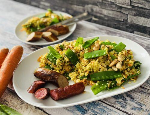 Couscous-Salat mit Limettendressing