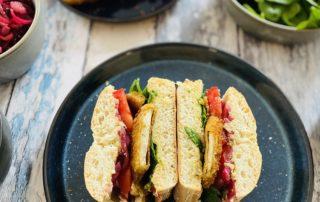 Tofu-Sandwich Rezept